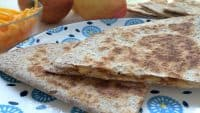 Apple Cheddar Quesadillas- A Perfect Make Ahead Breakfast!