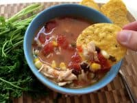 southwestern chicken corn soup,