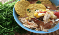 Incredibly Simple Southwestern Chicken Corn Soup