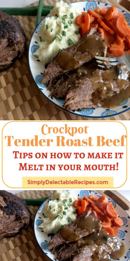Are you tired of having your beef roasts turning out dry? Follow my easy step by step recipes where I give you all the tips and tricks on how to make your chuck roast the best and most tender one you've had for dinner yet!