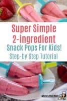 strawberry popsicle for kids
