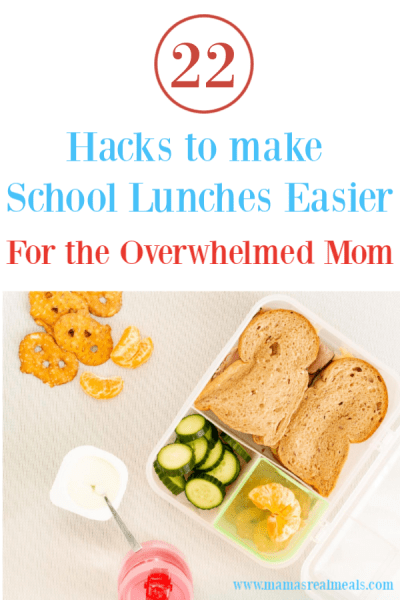 Lunchbox tips and tricks that actually make a difference! Make the last stretch of school so much easier with these school lunch hacks! #schoollunch #lunchbox #kidslunch #backtoschool #lunchhacks #lunchtips
