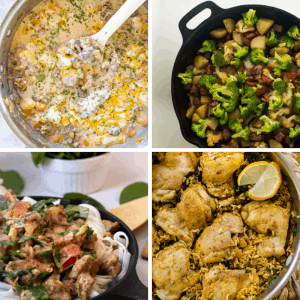 easy back to school one pot dinners